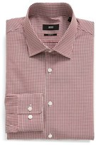 BOSS Men's Sharp Fit Check Dress Shirt