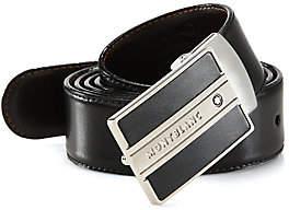 Montblanc Men's Rectangular Buckle Belt