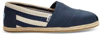 Toms Navy Stripe Men's University Classics