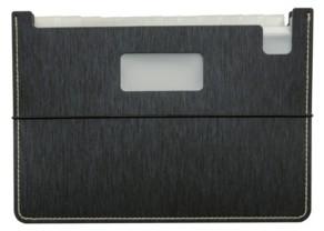 C Line C-Line Modern Metallic 13-Pocket Horizontal Stand-Up Expanding File