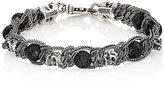 Emanuele Bicocchi Men's Braided Chain Bracelet