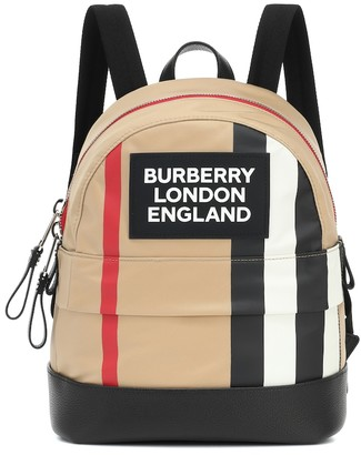 BURBERRY KIDS Nico Icon Stripe backpack