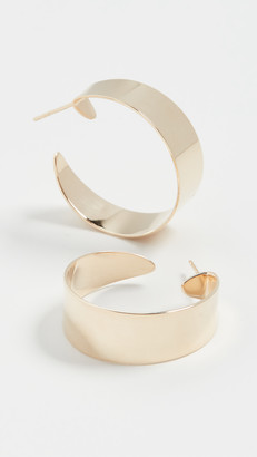 Jennifer Zeuner Jewelry Sandra Small Hoops