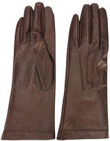 Plein Sud Jeans stitch detail gloves