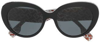 Burberry Eyewear Cats Eye Sunglasses