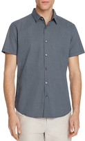 Theory Zack Trace Print Slim Fit Button-Down Shirt