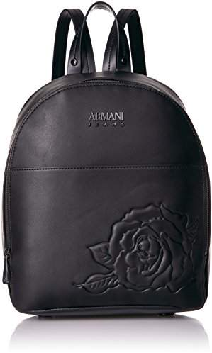 Armani Jeans Women's Embossed Floral Backpack