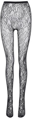 Dries Van Noten Floral lace tights
