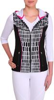 Nygard Collection Women's Print Block Vest
