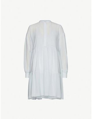 Samsoe & Samsoe Margo crepe mini shirt dress