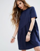 Noisy May Asymmetric Swing Dress