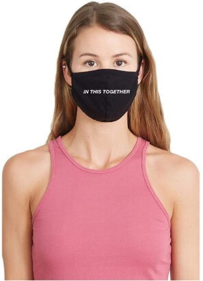 good hYOUman In This Together Face Mask (Black) Caps