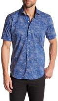 Peter Millar Ocean Traffic Print Regular Fit Sport Shirt