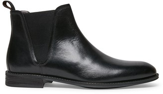 Steve Madden Theodore Black Leather