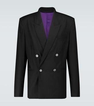Winnie N.Y.C Double-breasted wool blazer