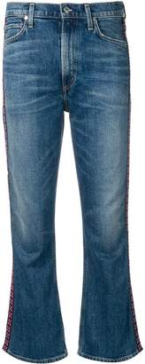 Citizens of Humanity embroidered side panel jeans