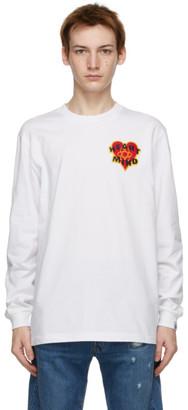 Billionaire Boys Club White Heart and Mind Long Sleeve T-Shirt