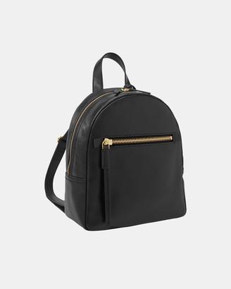 Fossil Megan Black Backpack