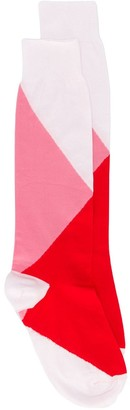 Marni Colour-Block Inlayed Socks
