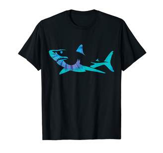 Shark Tie Dyes Shark Tie Dye Great White Shark T-Shirt