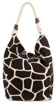 MICHAEL Michael Kors Printed Canvas Hobo