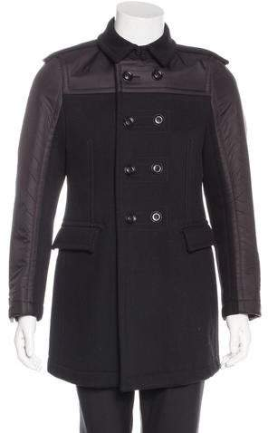 Burberry Wool Double-Breasted Coat w/ Tags