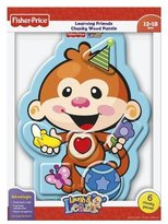 Fisher-Price Laugh & Learn Monkey Colours Wood Puzzle 6 pcs