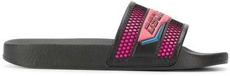 DSQUARED2 Logo Print Slide Sandals