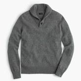 J.Crew Lambswool shawl-collar sweater