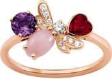 Chaumet Attrape-moi si tu maimes 18ct rose-gold and diamond ring