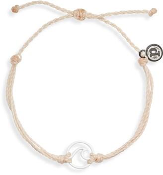 Pura Vida Wave Braided Cord Bracelet