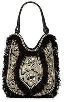 Antik Batik Cabas Fringed Cotton Bag