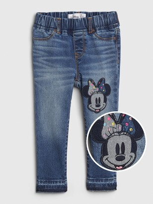 Disney babyGap   Minnie Mouse Jeggings with Stretch