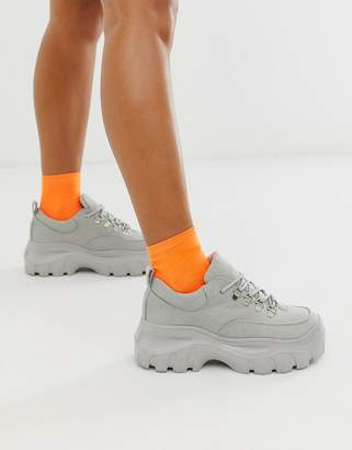 Truffle Collection chunky trainers-Grey