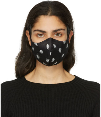 Lanvin Two-Pack Blue and Black Mother and Daughter Face Masks