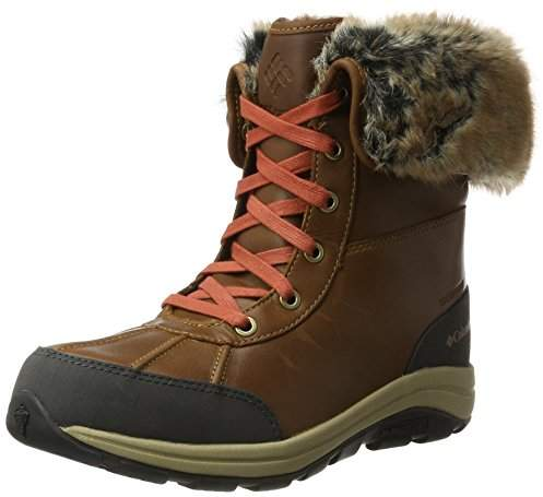 Columbia Women's Bangor Omni-Heat Snow Boots, Brown (Elk/Rusty), 40.5 EU