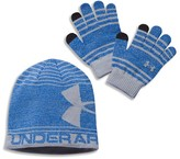 Under Armour Boys' Beanie & Gloves Set