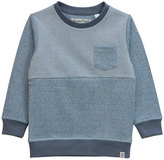 Sovereign Code Dusty Blue Zigzag Beyond Sweatshirt - Infant & Boys