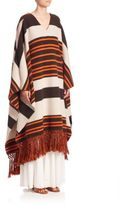 Chloé Striped Jacquard Poncho