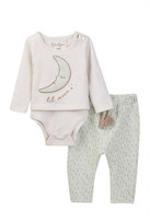 Jessica Simpson Bodysuit & Pant Set (Baby Girls)