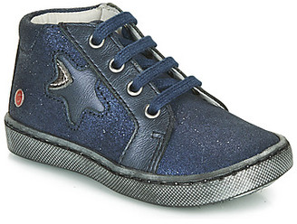 GBB LETO girls's Mid Boots in Blue