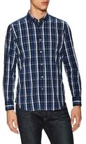 Plaid Stretch Dress Shirt