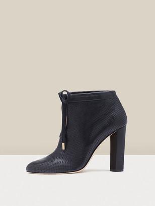 Diane von Furstenberg Anouk Leather Ankle Boots