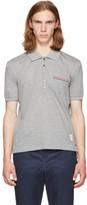 Thom Browne Grey Pocket Polo