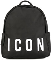 DSQUARED2 ICON backpack - women - Nylon/Polyamide/Polyester - One Size