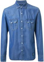 GUILD PRIME snap button denim shirt - men - Lyocell - 2