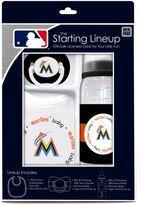 Baby Fanatic MLB Florida Marlins Baby Essentials Gift Set