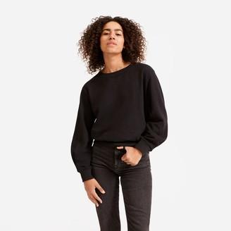 Everlane The Lightweight French Terry Pleat Sweatshirt