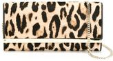 Jimmy Choo 'Milla' clutch - women - Metal (Other)/Pony Fur - One Size