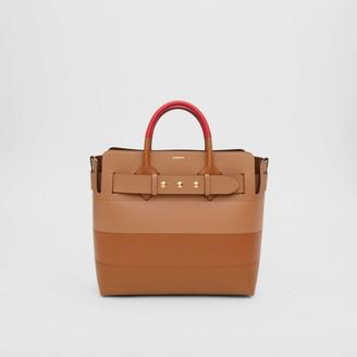 Burberry The Medium Panelled Leather Triple Stud Belt Bag
